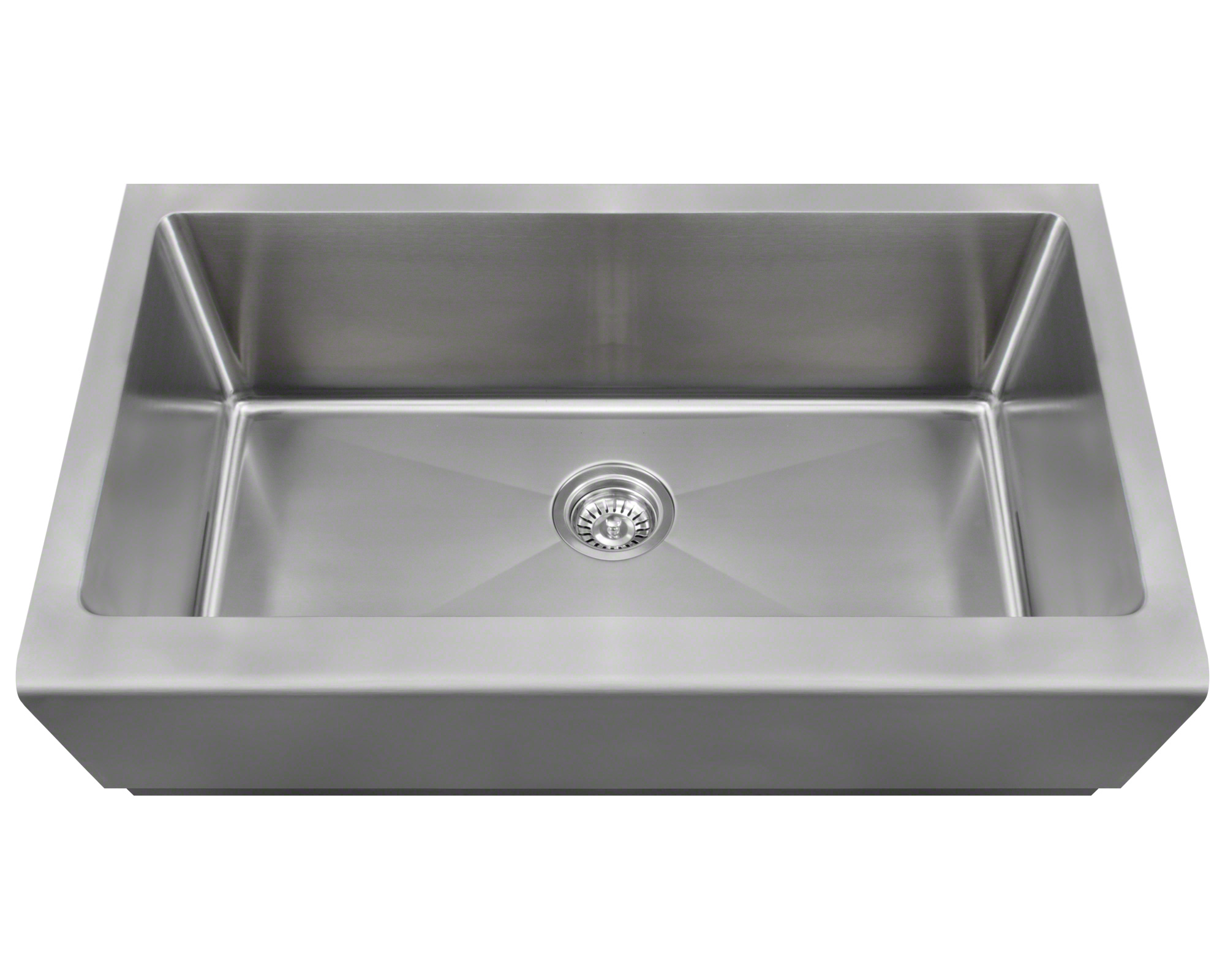 P504 Single Bowl Stainless Steel Apron Sink