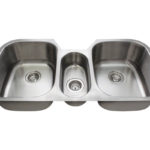 P1254 Triple Bowl Stainless Steel