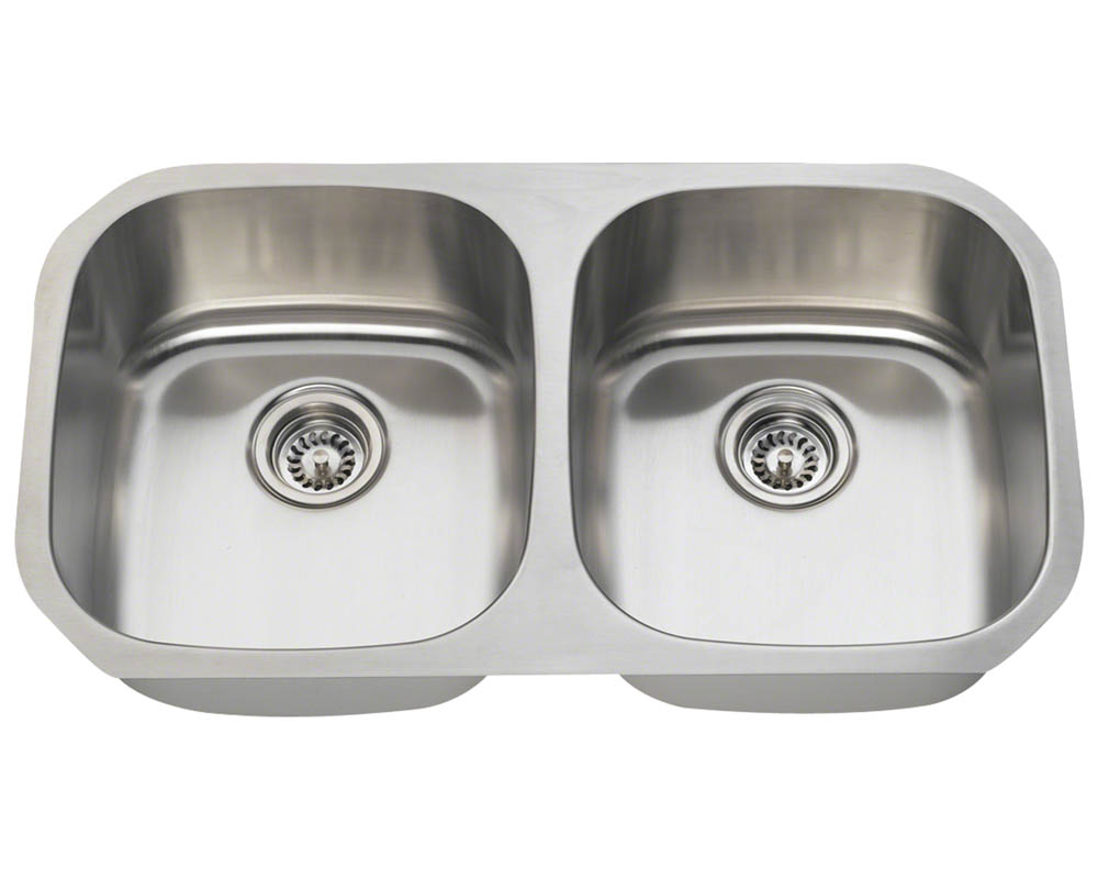 P205 Double Bowl Stainless Steel Sink