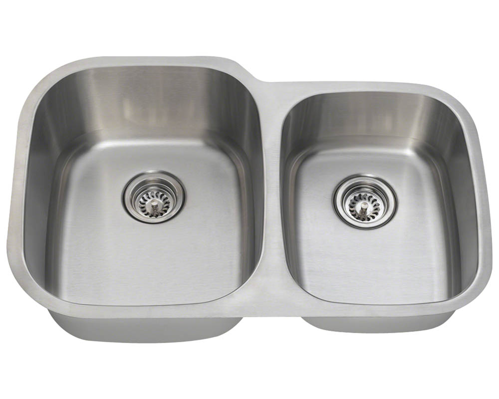 PL305-16 Offset Stainless Steel Sink