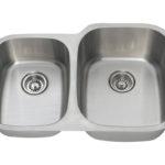 PR305-16 Reverse Offset Stainless Steel Sink