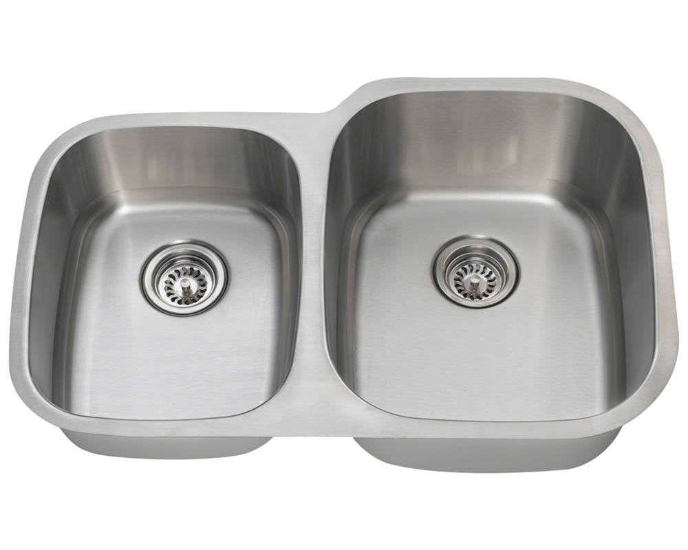 PR305-16 Reverse Offset Stainless Steel Sink