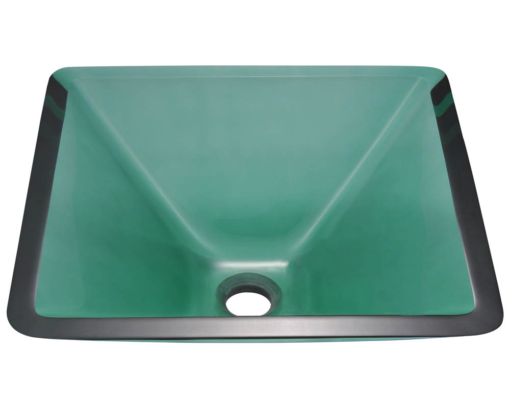 P306E Colored Glass Vessel Sink