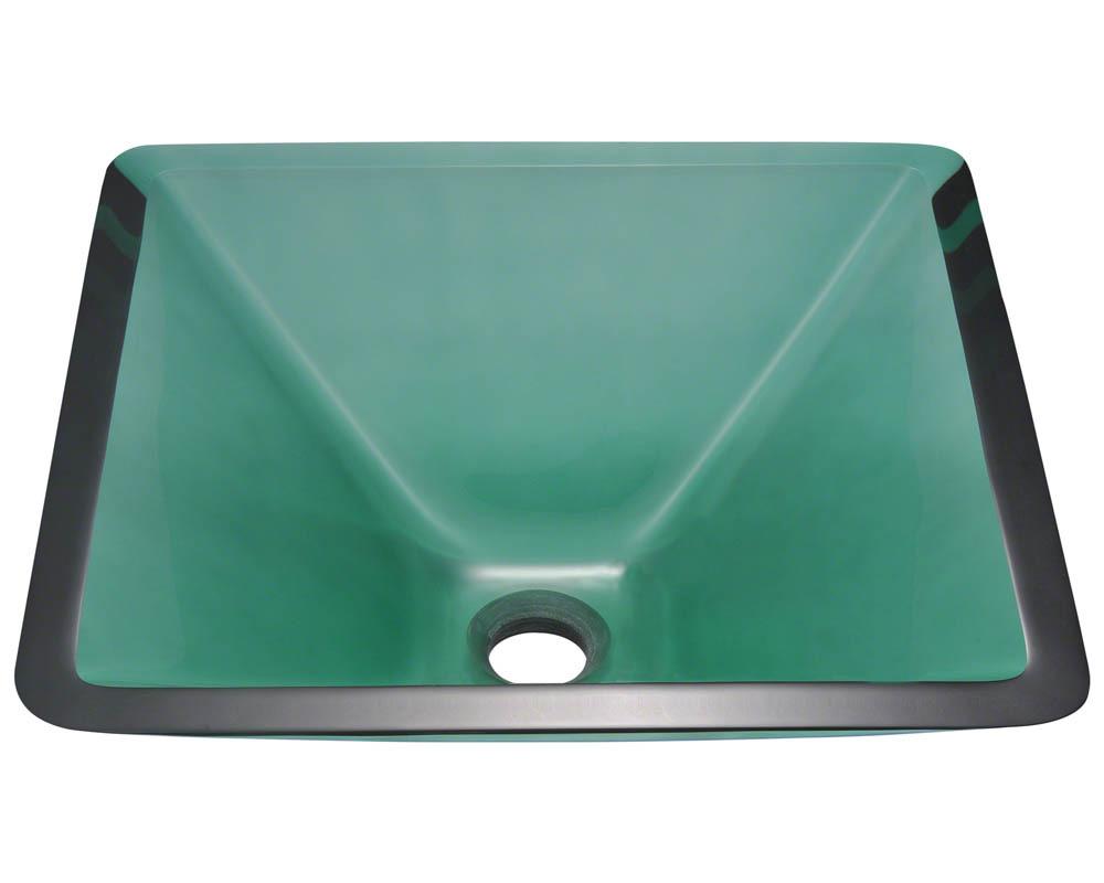 P306E Colored Glass Vessel Sink