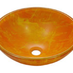 P506 Double Layer Glass Vessel Sink