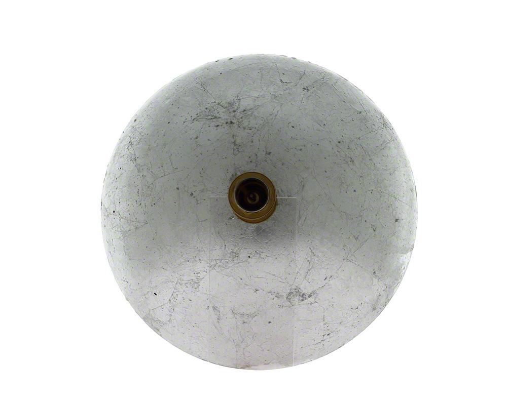P716 Silver Mesh Glass Vessel Sink
