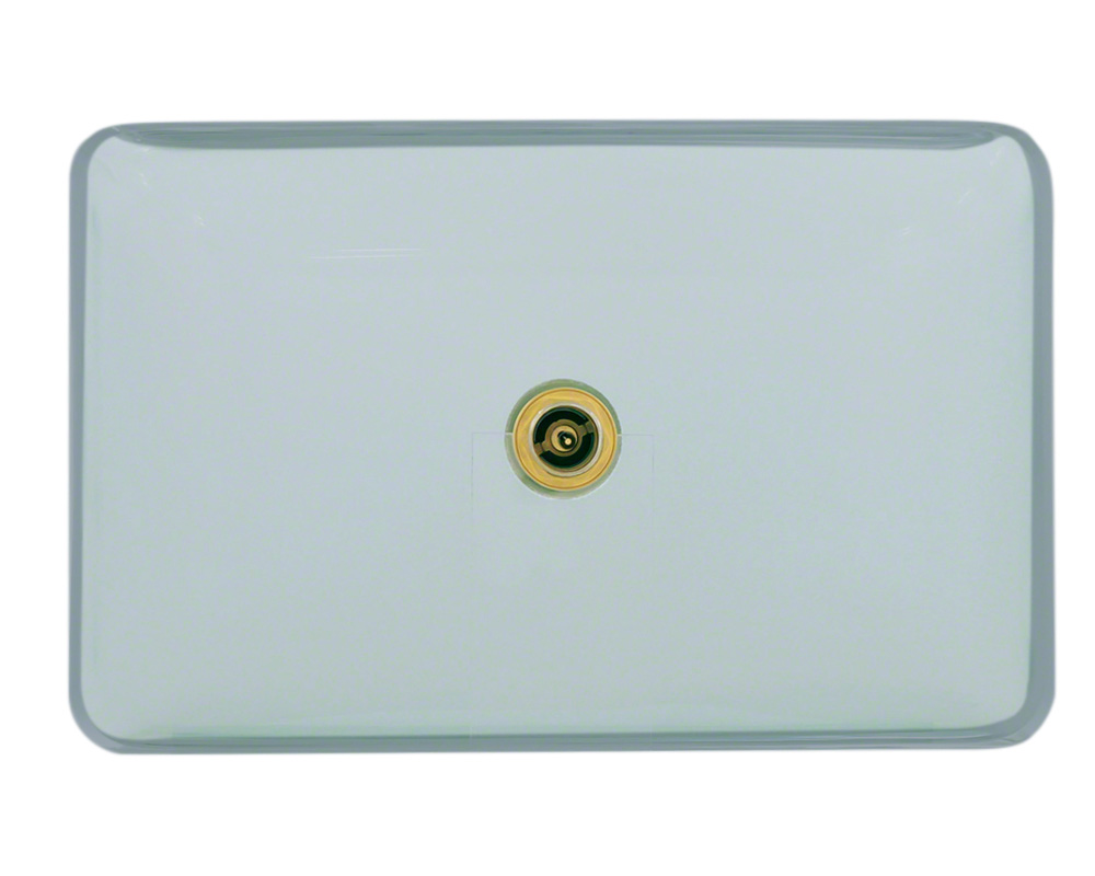 P046CR Glass Vessel Bathroom Sink