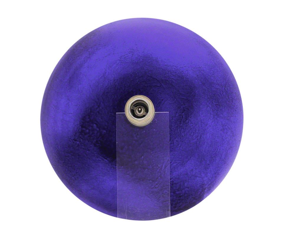 P246 Foil Undertone Purple Glass Vessel Sink