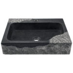 P568 Impala Black Granite Vessel Sink