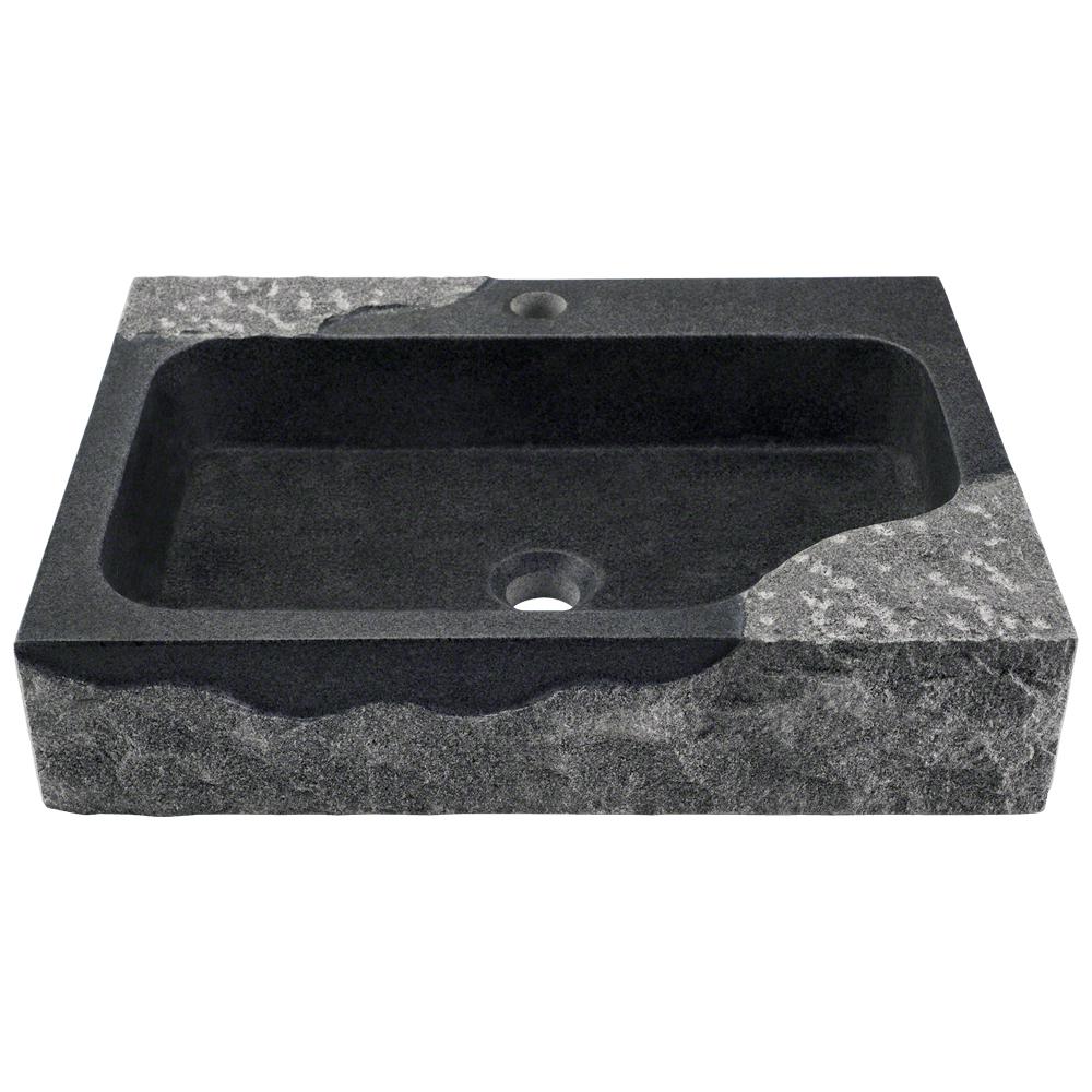 P568 Impala Black Granite Vessel Sink