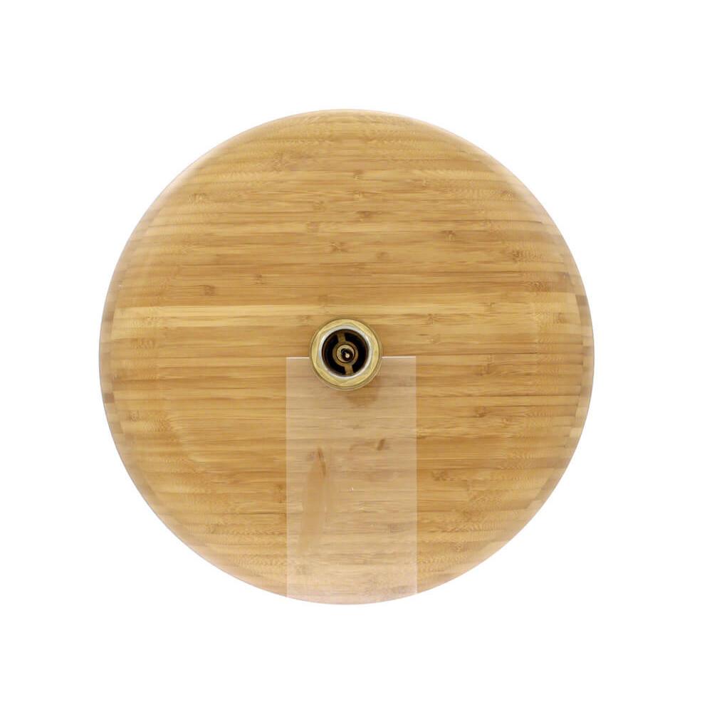 P398 Bamboo Vessel Bathroom Sink