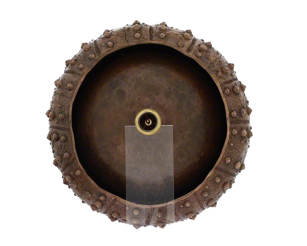 P469 Single Bowl Vessel Bronze Bathroom Sink