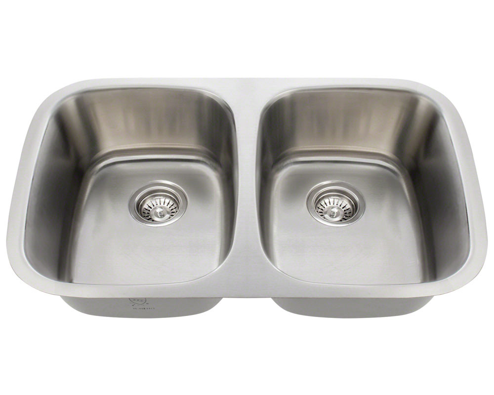 P015 Double Bowl Stainless Steel Sink