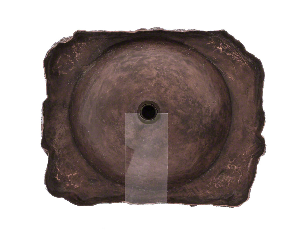 P069 Bronze Drop-In Sink