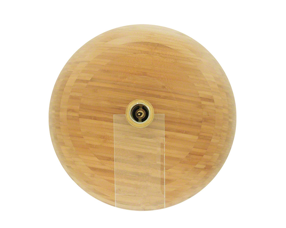 P098 Bamboo Vessel Bathroom Sink