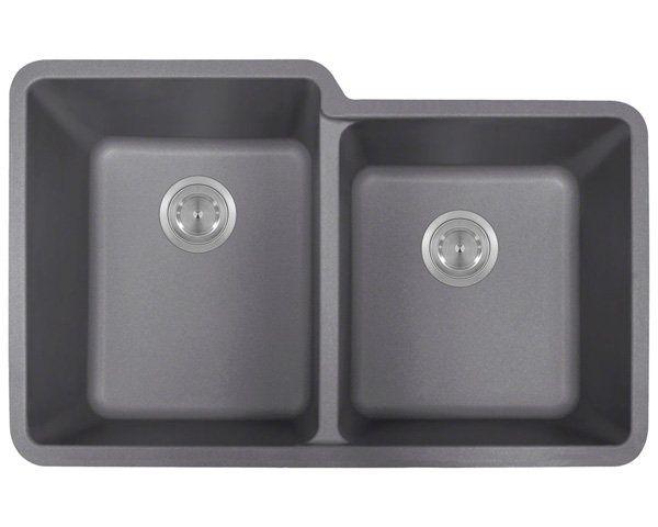 P108S Double Offset Bowl AstraGranite Sink