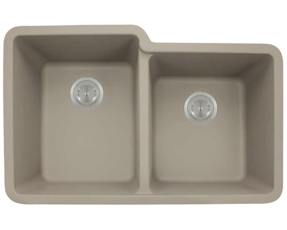 P108ST Double Offset Bowl AstraGranite Sink