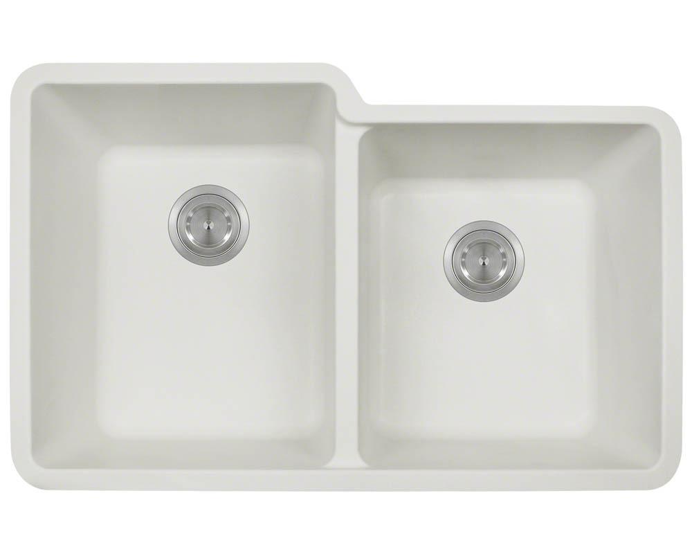 P108W Double Offset Bowl AstraGranite Sink