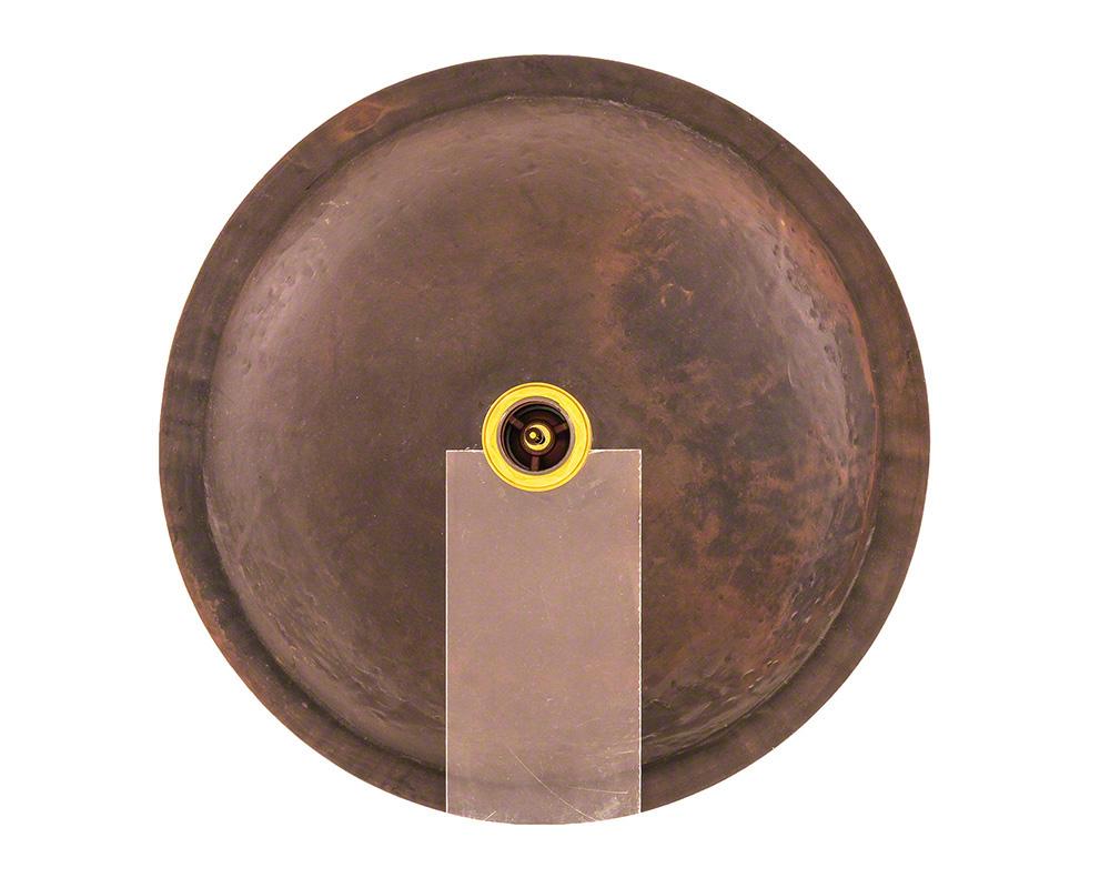 P159 Single Bowl Bronze Bathroom Sink