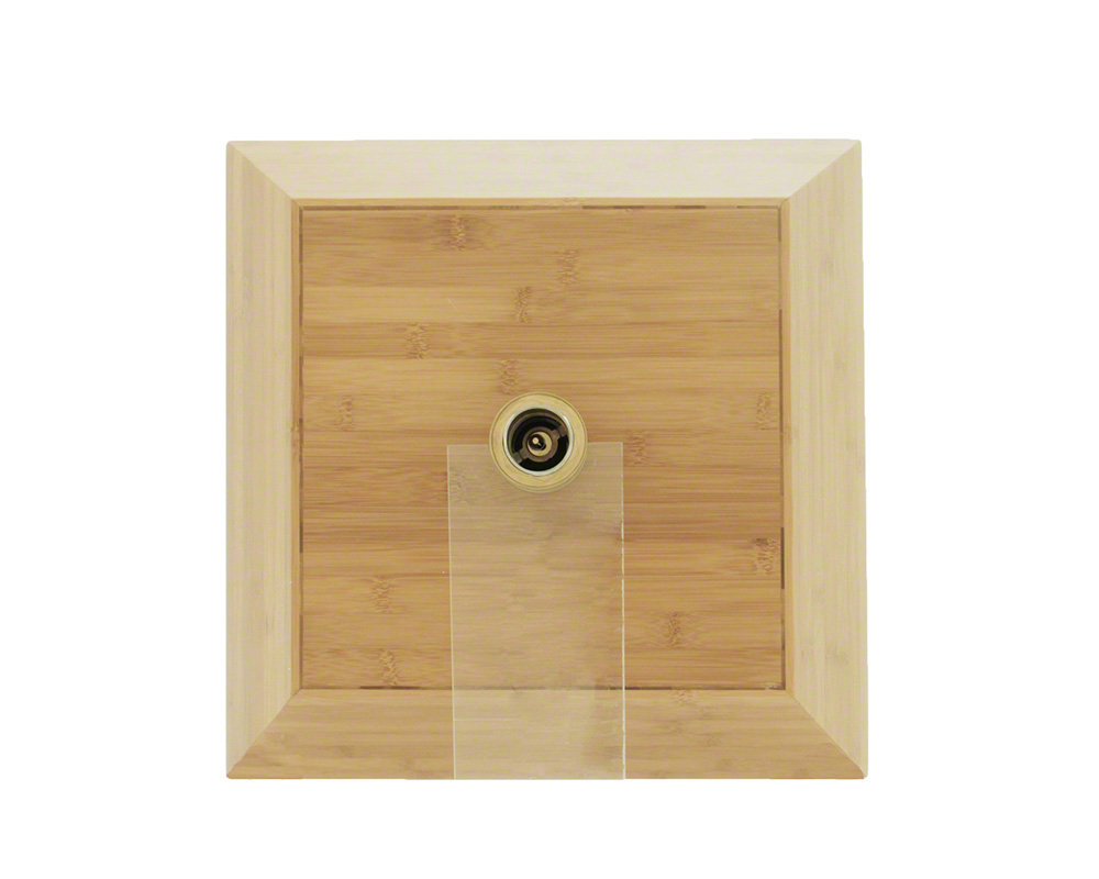 P198 Bamboo Vessel Bathroom Sink