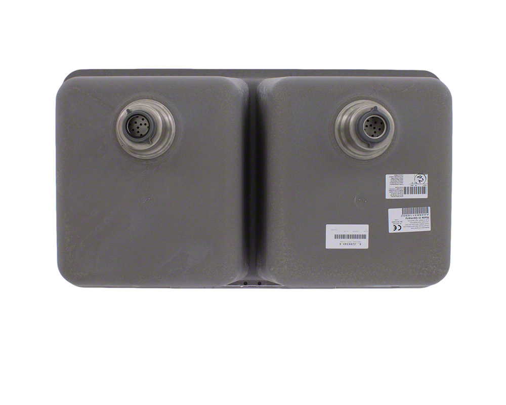 P208S Double Equal Bowl AstraGranite Kitchen Sink