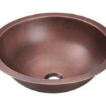 P229 Single Bowl Copper Bathroom Sink