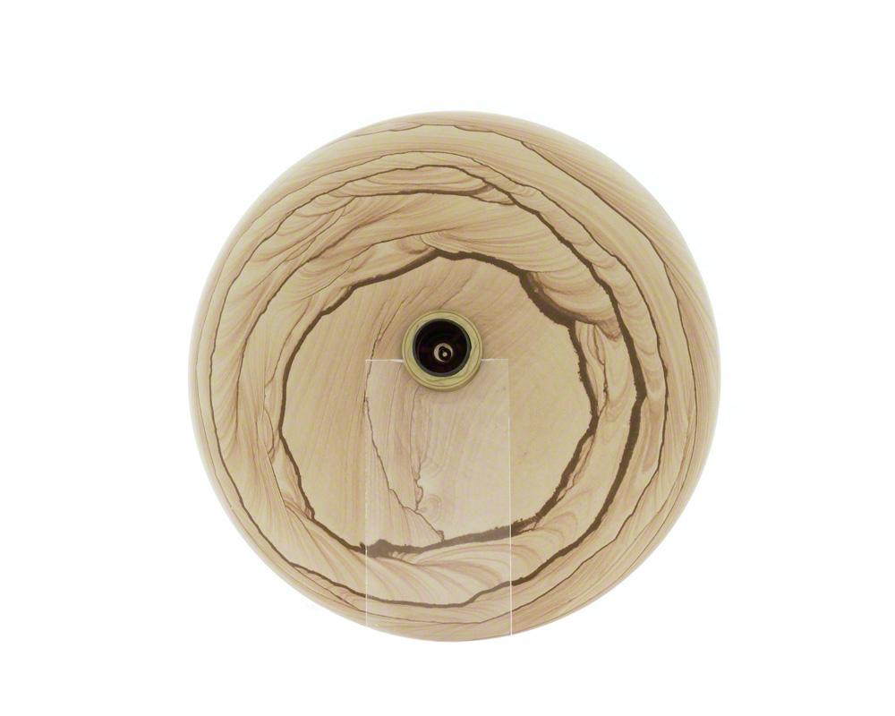 P258 Wood Sandstone Vessel Sink