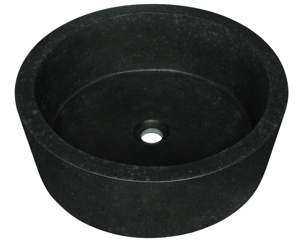 P268 Honed Basalt Vessel Sink