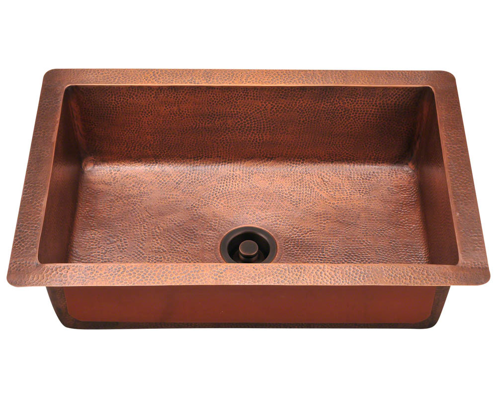 P309 Single Bowl Copper Sink