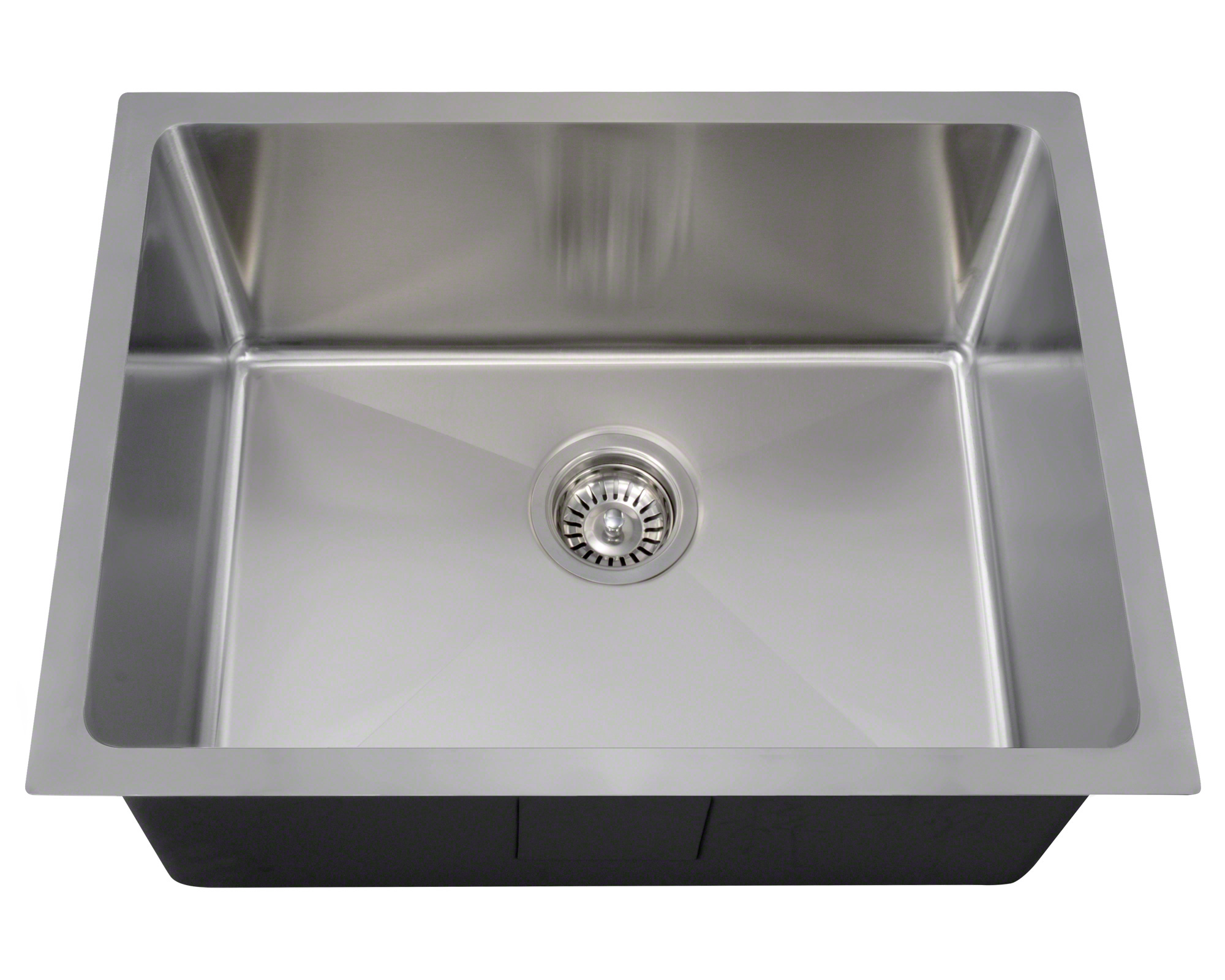 "P3281 Stainless Steel Single Bowl 3/4"" Radius Kitchen Sink"