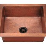 P409 Single Bowl Copper Sink