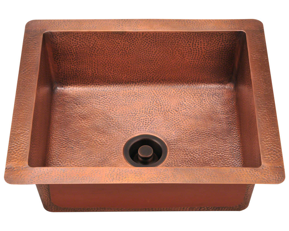 P409 Single Bowl Copper Sink