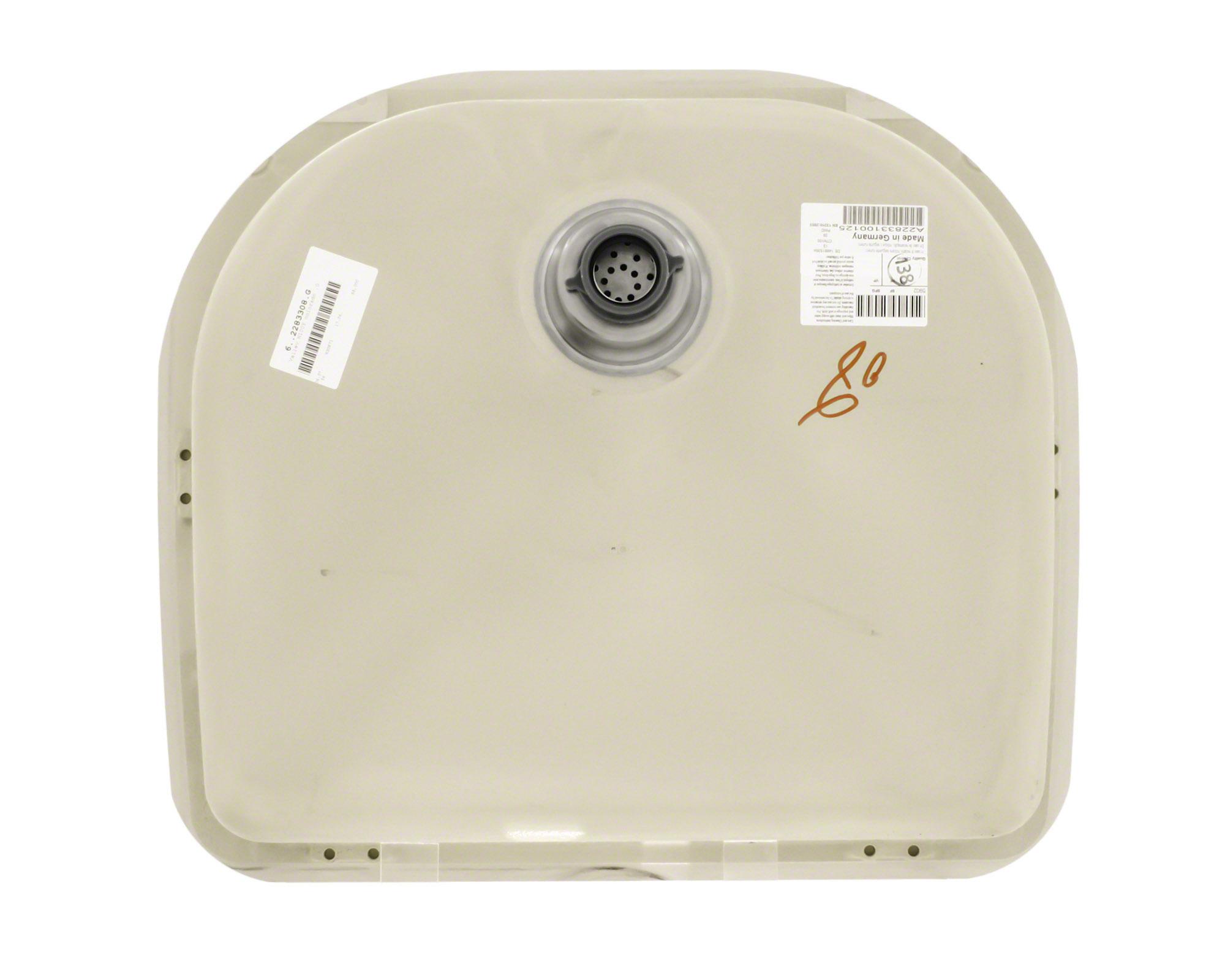 P428BE D-Bowl AstraGranite Sink
