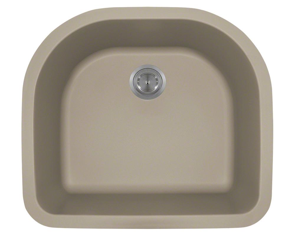 P428ST D-Bowl AstraGranite Sink