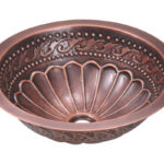 P429 Single Bowl Copper Bathroom Sink