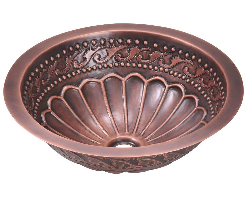 P429 Single Bowl Copper Bathroom Sink