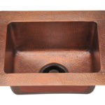 P509 Small Single Bowl Copper Sink