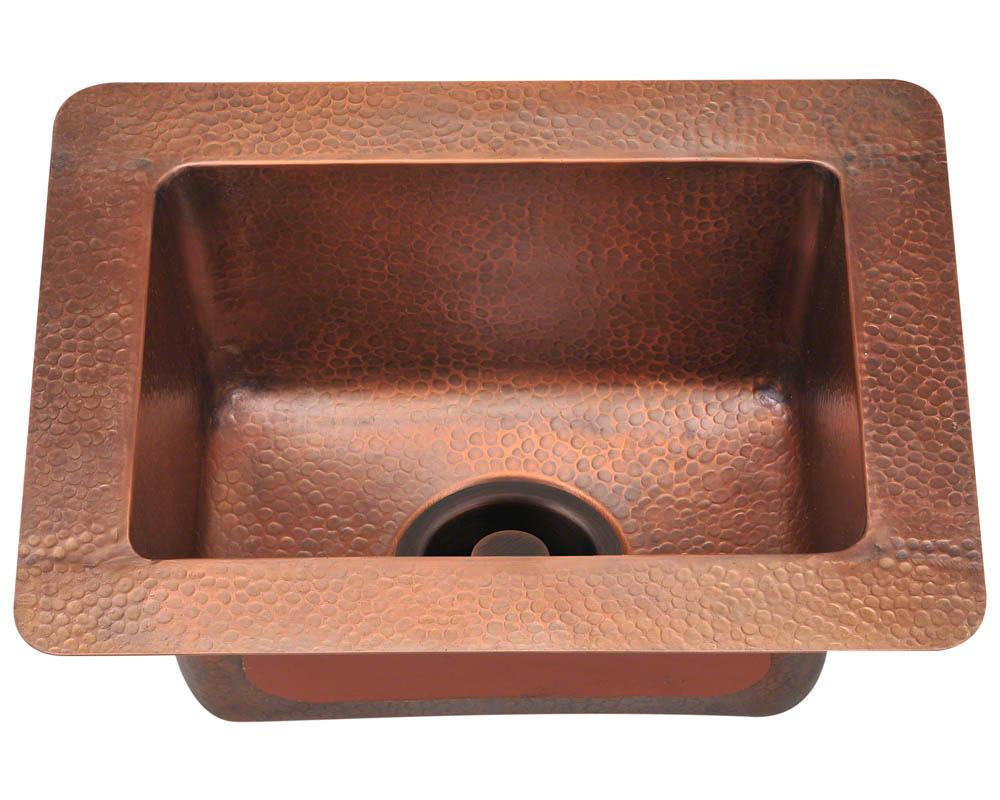P509 Small Single Bowl Copper Sink
