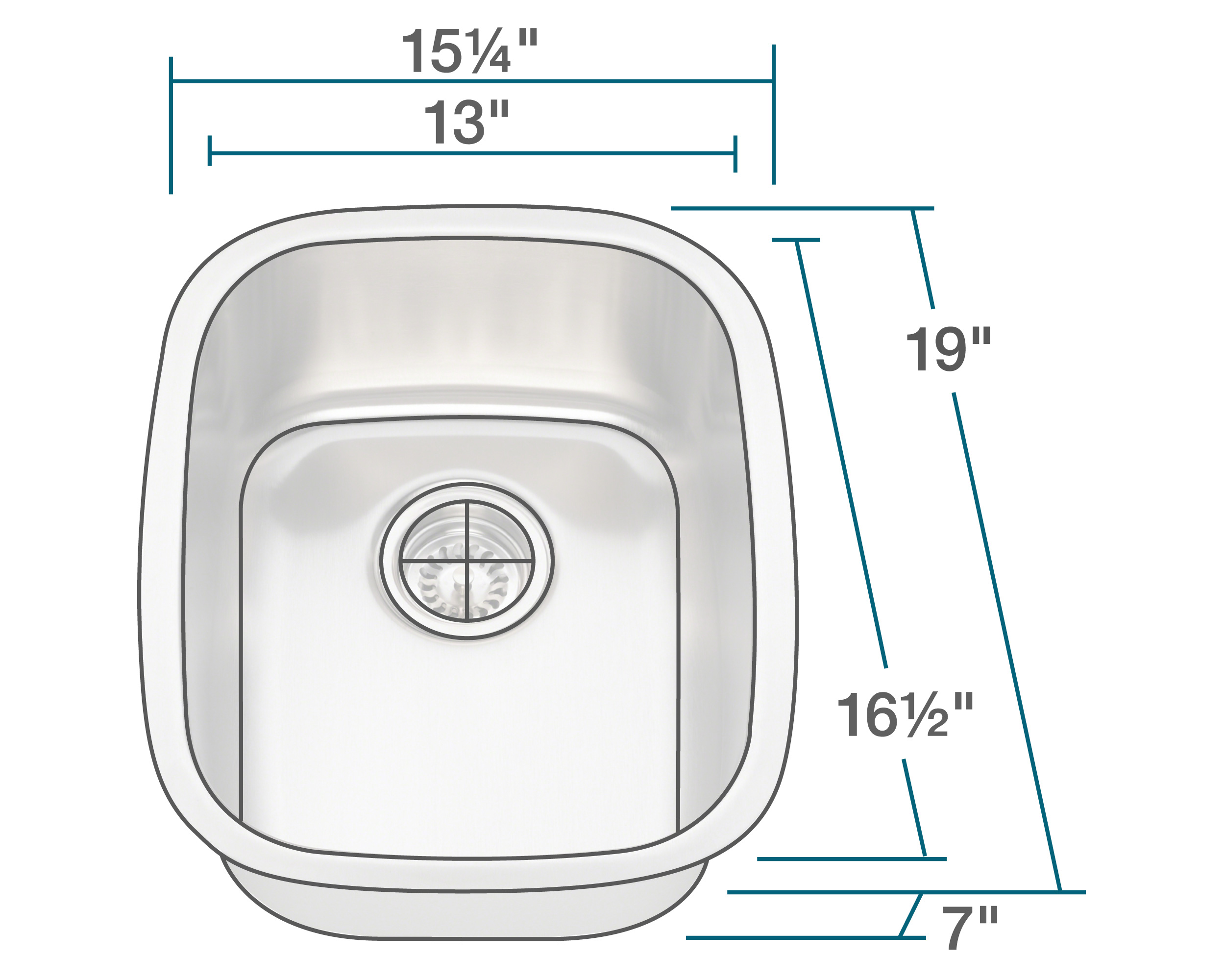 P5181 Stainless Steel Bar Sink