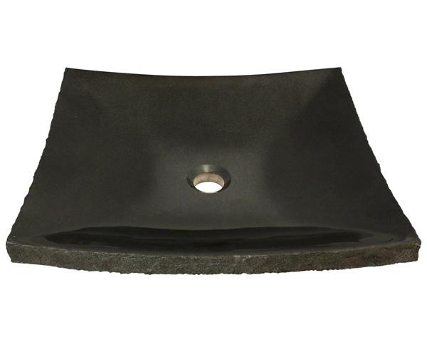 P558 Shanxi Black Granite Vessel Sink