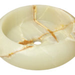 P658 White Onyx Vessel Sink