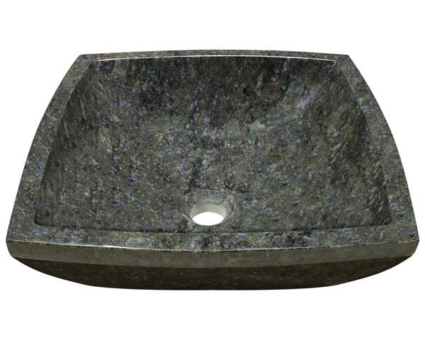 P758 Butterfly Blue Granite Vessel Sink