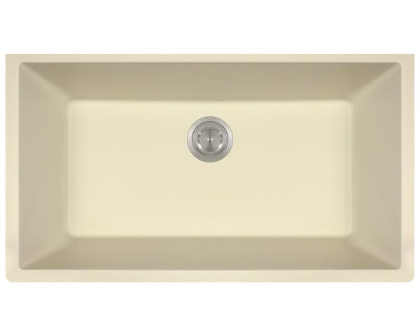 P848BE Large Single Bowl Undermount AstraGranite Kitchen Sink