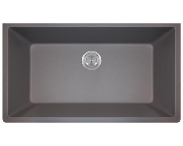 P848S Large Single Bowl Undermount AstraGranite Kitchen Sink