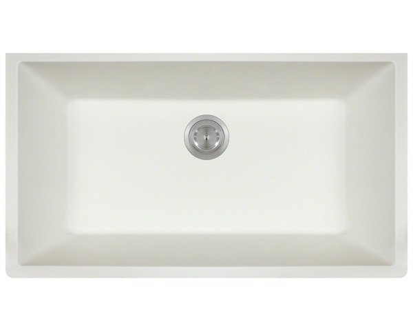 P848W Large Single Bowl Undermount AstraGranite Kitchen Sink