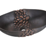 P859 Bronze Blackened Vessel Sink