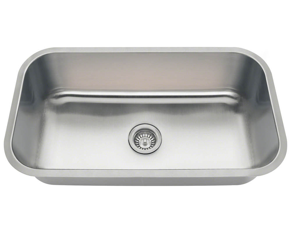 PC8123 Single Bowl Undermount Stainless Steel Sink