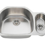 PL123 Offset Stainless Steel Kitchen Sink