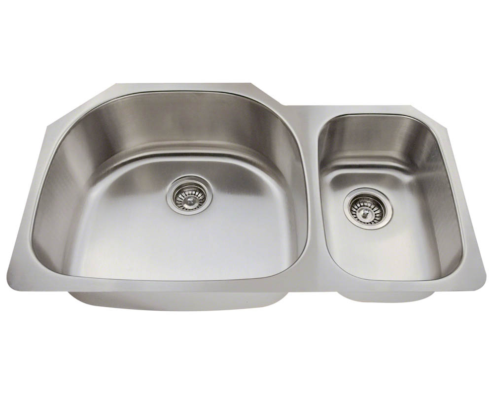 PL905 Offset Stainless Steel Kitchen Sink