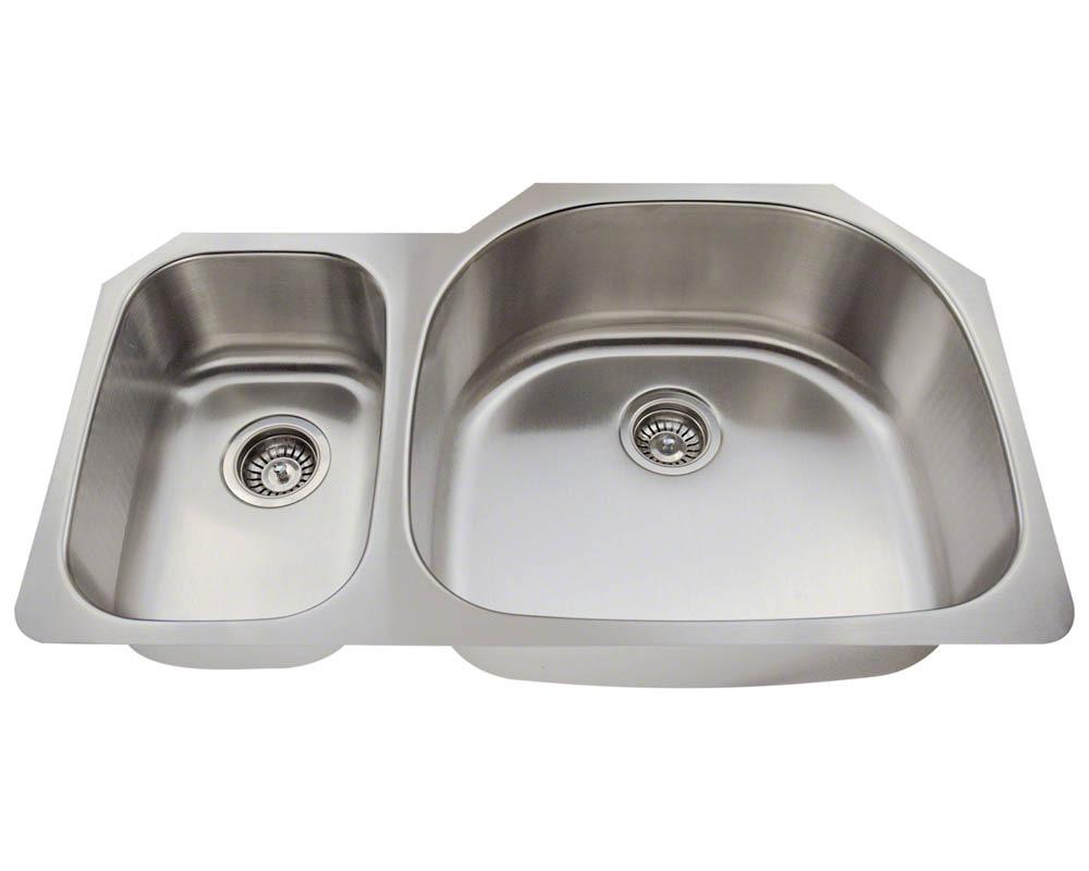 PR905 Offset Stainless Steel Sink